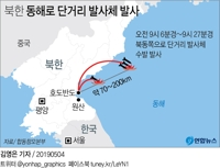 N.K. projectile launch reveals growing impatience over stalled nuke talks with U.S.