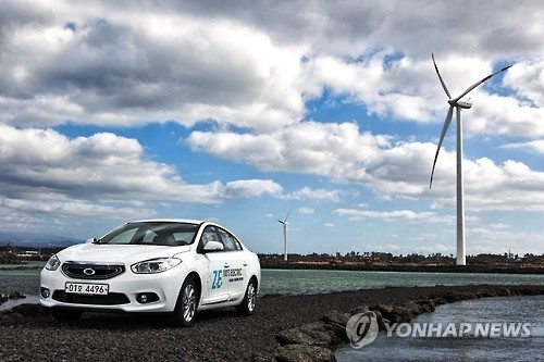 Electric charging point at gas station starts operation in Jeju - 1