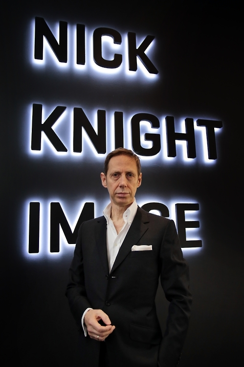 This undated photo provided by Daelim Museum shows British photographer Nick Knight. (Yonhap)