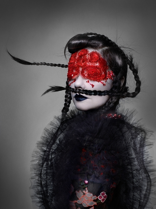 """Bjork,"" 2016. The image is courtesy of Nick Knight. (Yonhap)"