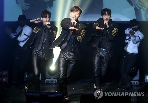 South Korean boy band SS301 performs in this undated file photo. (Yonhap)
