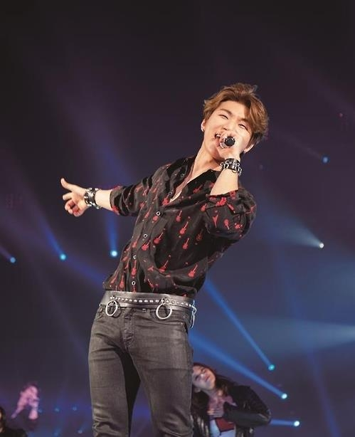 This photo, provided by YG Entertainment, shows Daesung of BigBang. (Yonhap)
