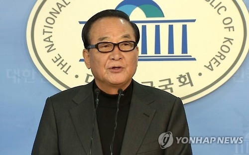 Rep. Suh Chung-won of the ruling Saenuri Party. (Yonhap)