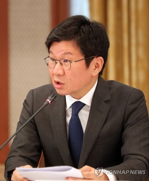 In this file photo taken on Dec. 6, 2016, Korea Football Association President Chung Mong-gyu speaks at a meeting in Seoul. (Yonhap)