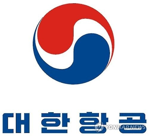 The company logo of Korean Air Lines Co. (Yonhap)