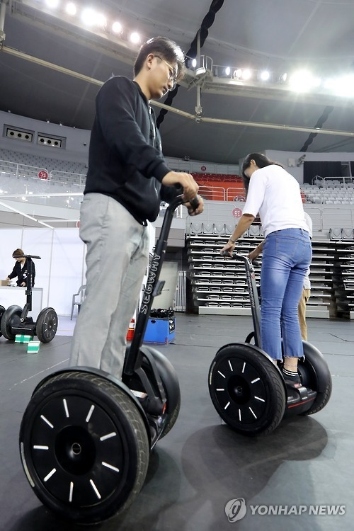 (Yonhap Feature) Personal mobility devices expanding fast but face hurdles - 2