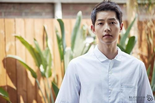This file photo provided Blossom Entertainment is of actor Song Joong-ki. (Yonhap)