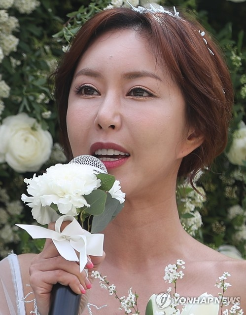 This file photo shows Shoo, a former member of popular '90s girl group S.E.S. (Yonhap)