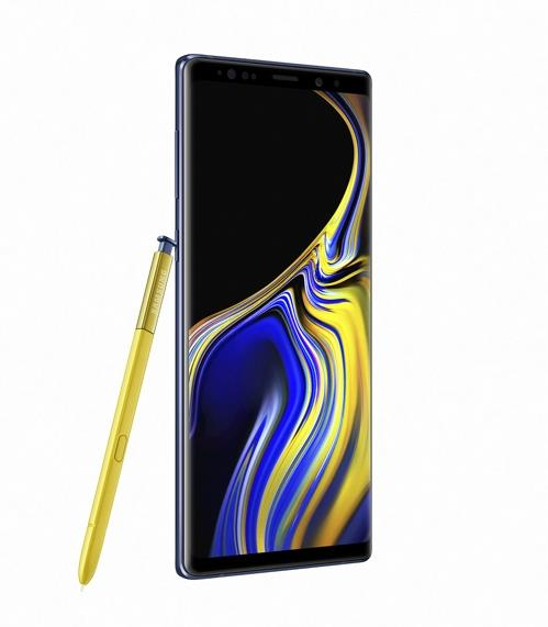 Samsung Electronics Co.'s Galaxy Note 9 (Yonhap)