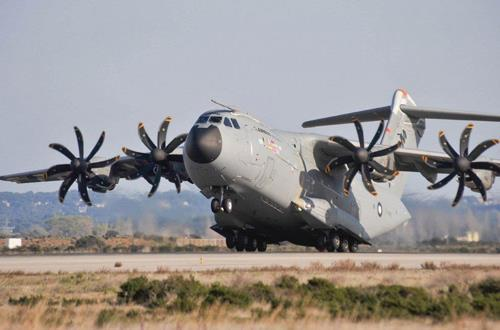 A photo of A-400M cargo plane, posted on the Airbus website. (Yonhap)