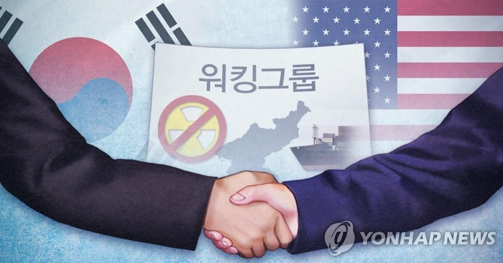 An image illustrating South Korea-U.S. working group consultations on North Korea (Yonhap)