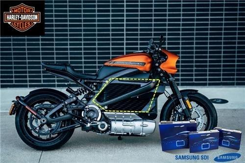 (LEAD) Harley-Davidson to showcase e-motorcycle with Samsung SDI's battery