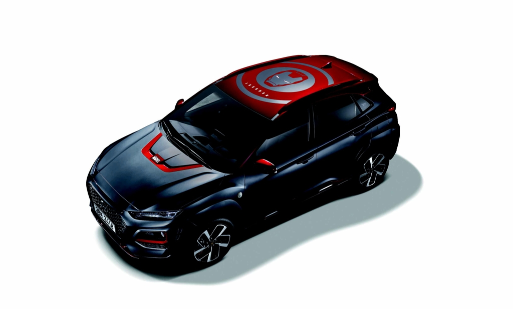 This photo provided by Hyundai Motor shows the Kona Ironman Edition to be released in global markets in late January. (Yonhap)