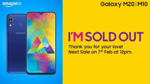 Samsung's Galaxy M series phones sells out minutes after launch in India - 1
