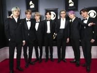 BTS on the Grammys red carpet: 'Dream come true'
