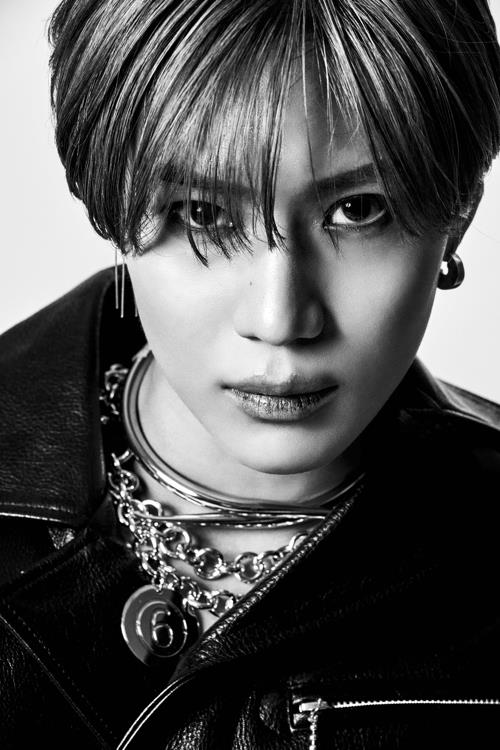 This image of Taemin was provided by SM Entertainment. (Yonhap)