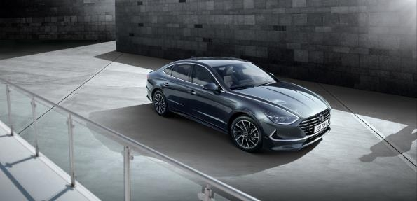 This photo provided by Hyundai Motor America shows the all-new Sonata mid-size sedan. (Yonhap)