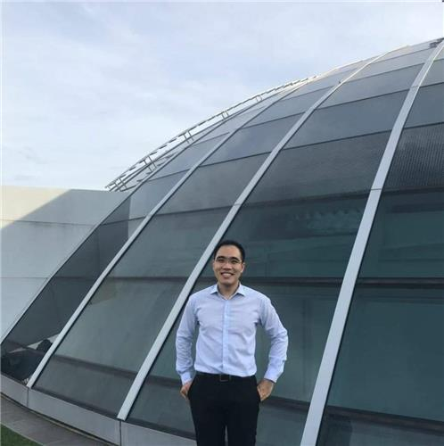 Shawn Ho, an associate research fellow at the S. Rajaratnam School of International Studies of Nanyang Technological University in Singapore, poses in this undated photo provided by him. (Yonhap)