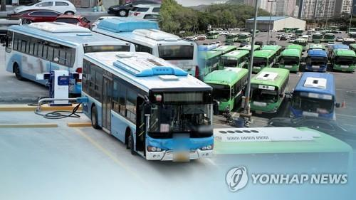 (2nd LD) Bus drivers hold last-minute talks with management on eve of threatened strike