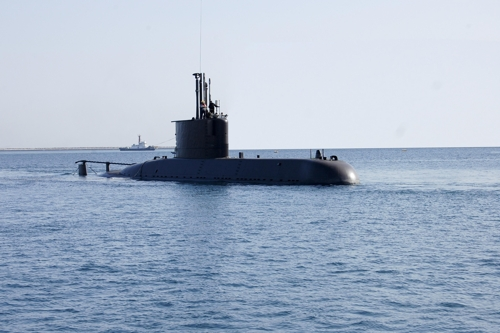 Upgraded version of 1,200-ton submarine delivered to S. Korean Navy