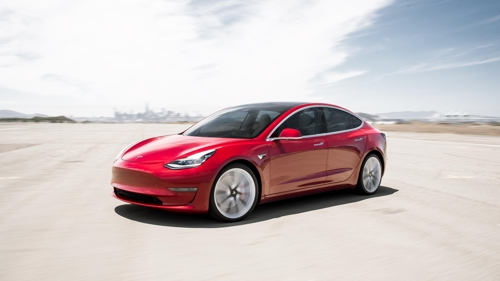 Tesla launches Model 3 in S  Korea   Yonhap News Agency