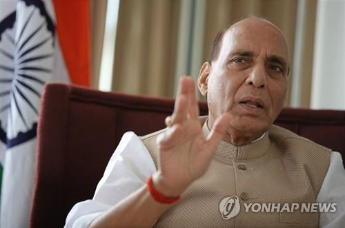 (Yonhap Interview) India hopes S. Korean firms participate in its arms procurement: defense chief