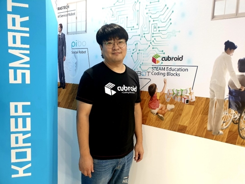(Yonhap Interview) Cubroid aims to make coding fun experience with modular robots