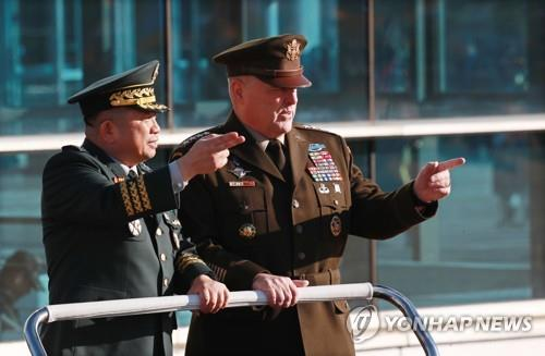 (4th LD) U.S. military chief vows full use of military capabilities to defend S. Korea