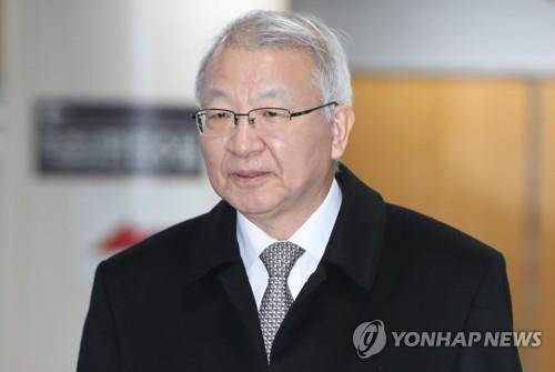 This file photo shows former Supreme Court Chief Justice Yang Sung-tae. (Yonhap)