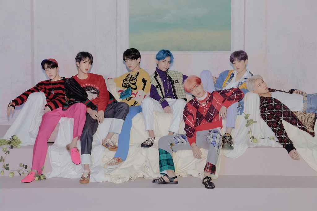 This image of BTS was provided by Big Hit Entertainment. (PHOTO NOR FOR SALE) (Yonhap)