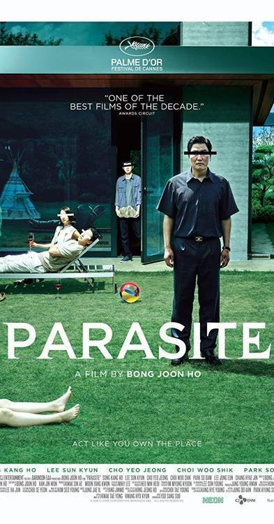 "A poster of ""Parasite"" provided by CJ ENM (PHOTO NOT FOR SALE) (Yonhap)"