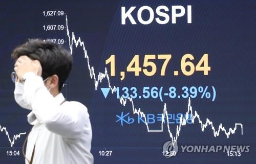 Foreigners extend selling streak to 11th day amid deepening rout