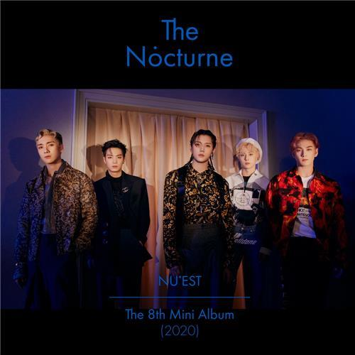 "A promotional image for NU'EST's new album, ""The Nocturne,"" provided by Pledis Entertainment. (PHOTO NOT FOR SALE) (Yonhap)"