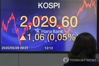 (LEAD) Seoul stocks end higher on finance minister's FX intervention comments