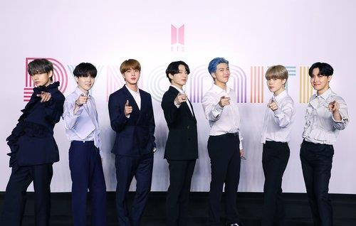 Korean group BTS makes historic landing on British music chart