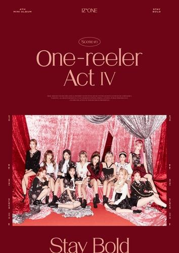 This image, provided by Off the Record, shows the concept of K-pop group IZ*ONE's fourth EP album to be released on Dec. 7, 2020. (PHOTO NOT FOR SALE) (Yonhap)
