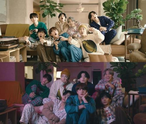 (3rd LD) BTS makes history as 'Life Goes On' becomes first Korean song to top Billboard main singles chart