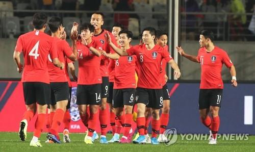 S. Korea's World Cup qualifying matches pushed from March to June