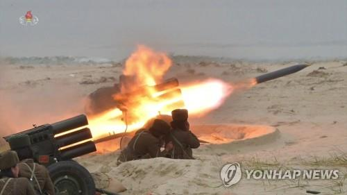 S. Korea, U.S. closely watching N. Korea amid signs rocket launchers being deployed to border islet