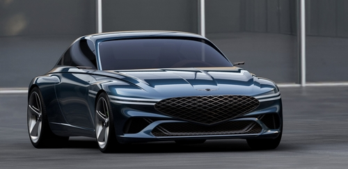 Genesis showcases luxury EV concept coupe
