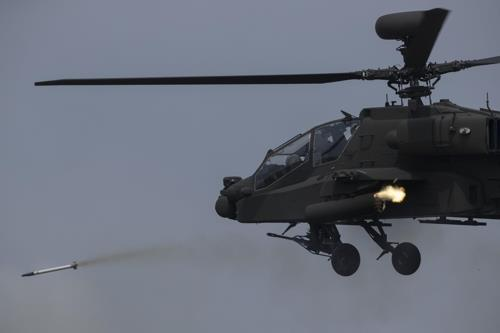 (LEAD) S. Korea to buy more attack choppers from abroad by 2028
