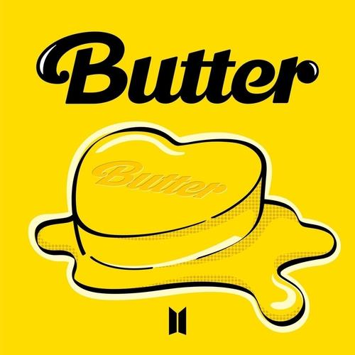 "This image, provided by Big Hit Music, shows the online cover for the upcoming BTS song ""Butter."" (PHOTO NOT FOR SALE)(Yonhap)"