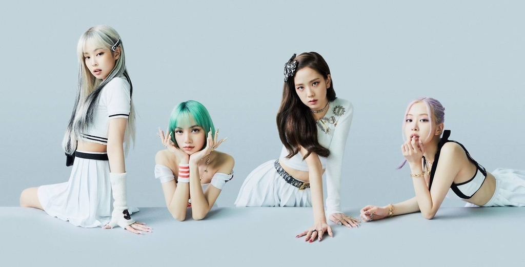 This photo, provided by YG Entertainment, shows K-pop act BLACKPINK. (PHOTO NOT FOR SALE) (Yonhap)