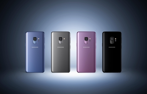 Le Galaxy S9 disponible en 4 coloris