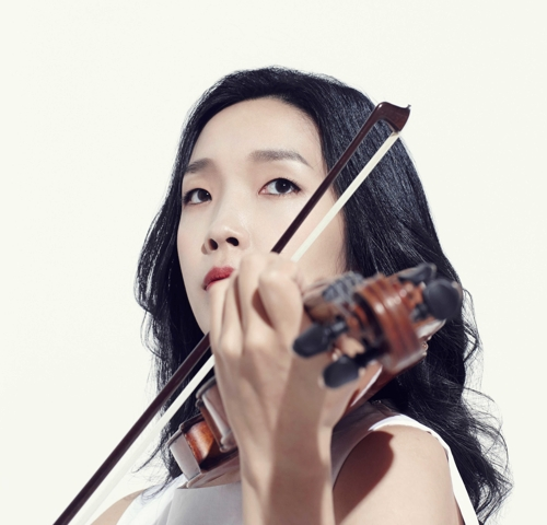 Violoniste Park Ji-yoon. © Mok Production