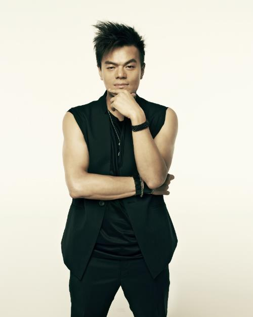 Le président de JYP Entertainment Park Jin-young.