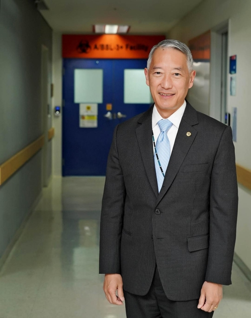 Jerome Kim, directeur de l'Institut international des vaccins (IVI), dans les locaux de son organisation à Séoul. (Photo d'archives fournie par l'Institut international des vaccins. Archivage et revente interdits)