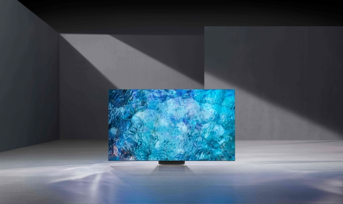 Téléviseur Neo QLED de Samsung Electronics Co. (Photo fournie par Samsung Electronics Co. Revente et archivage interdits)