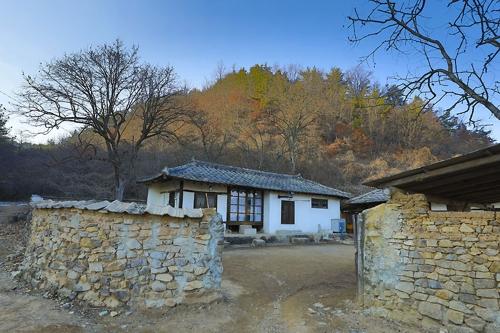 영화 리틀 포레스트의 배경이 된 경북 군위군의 한 가정집 [사진/성연재 기자]
