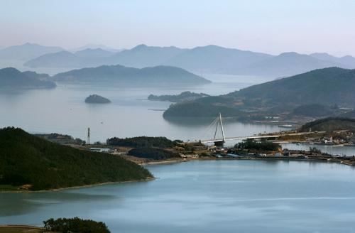 2구간에 볼 수 있는 몽환적인 바다 풍경 [사진/전수영 기자]
